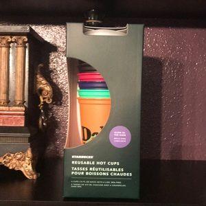Starbucks Glow in the Dark Reusable Hot Cups